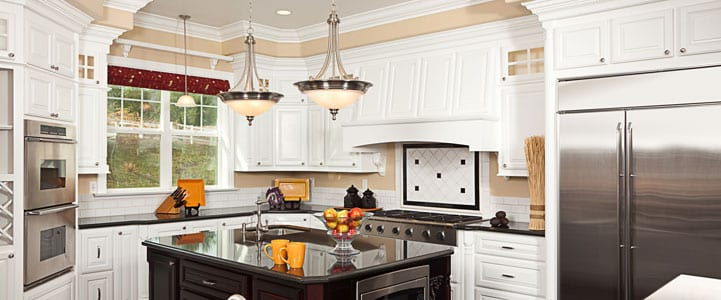 This kitchen is gorgeous!