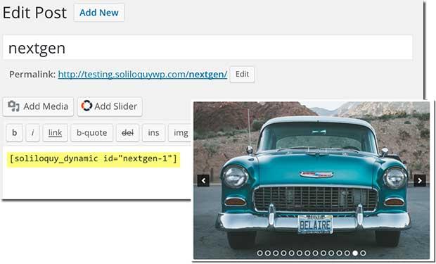 How to Create a Responsive Slider for NextGen Gallery in WordPress