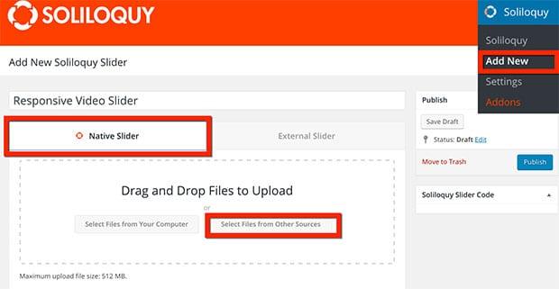 Create a Responsive Video Slider in WordPress