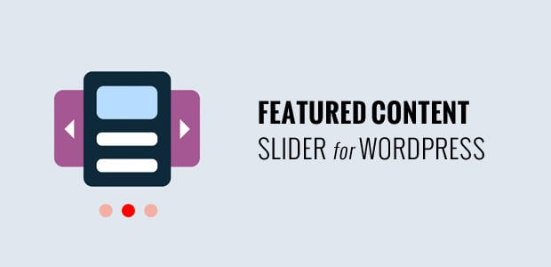 Featured Content Slider for WordPress