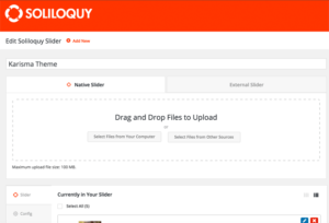 New Soliloquy Workflow