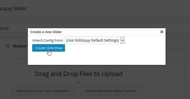 Demonstrating inheriting default settings
