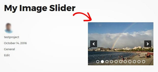 Fix Image Size for Your Slider