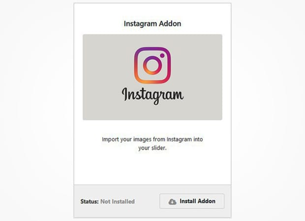Instagram Addon