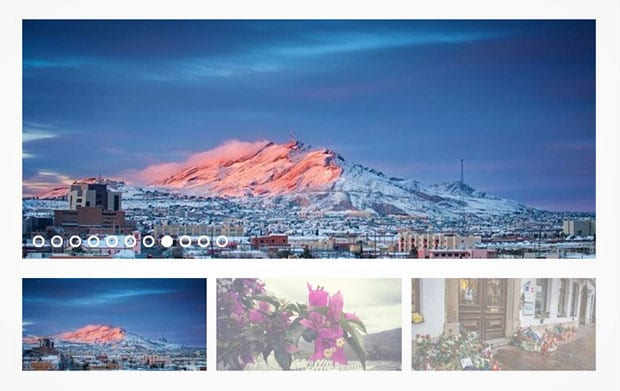 WordPress Slider with Thumbnails