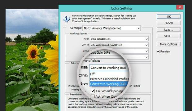 Working RGB