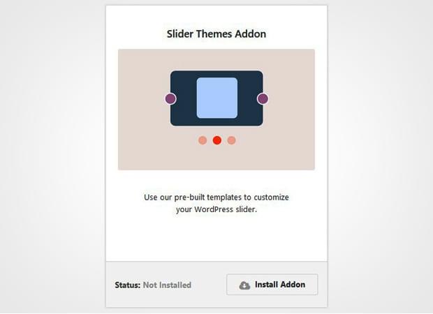 Slider Themes Addon