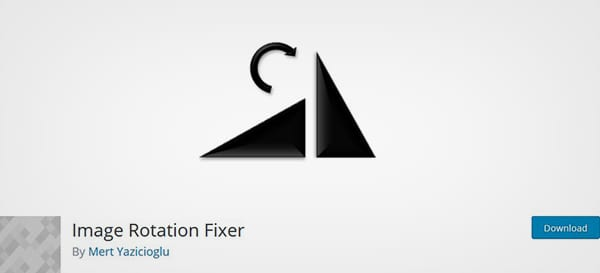 Image Rotation Fixer Plugin