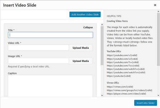 Add Video Slide