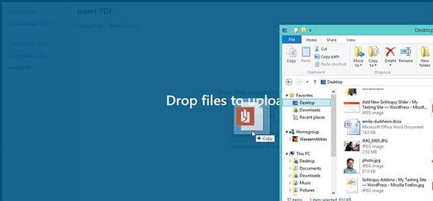 Insert PDF File