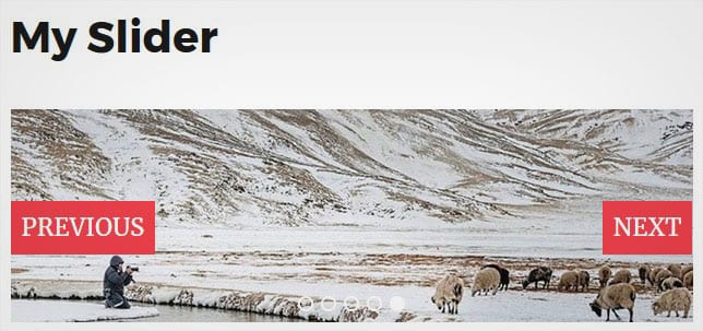 WordPress Slider with Text Navigation