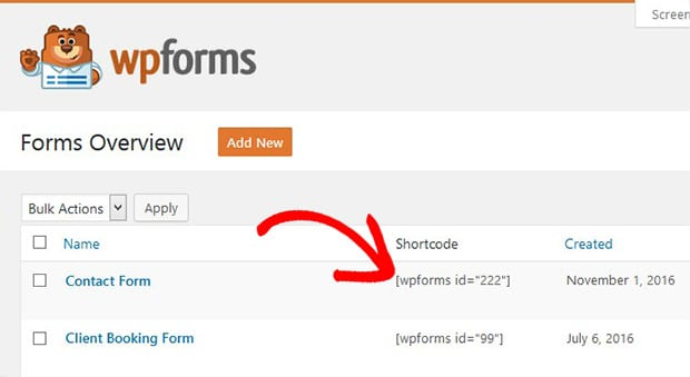 Copy Form Code