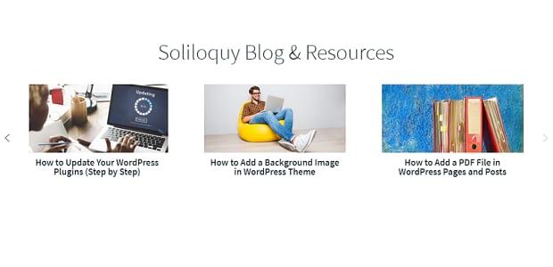 Soliloquy blog