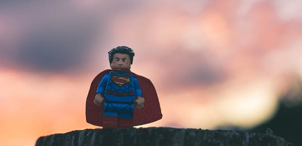 Lego Superman Hero Image