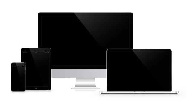 Various PC and mobile devices