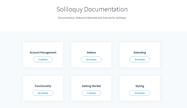 Soliloquy documentation