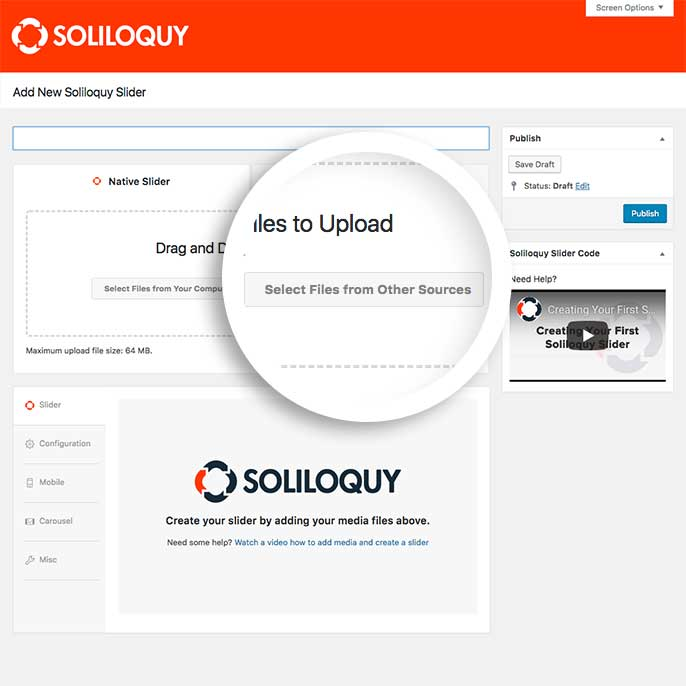 How to Add Videos to Your Soliloquy WordPress Slider